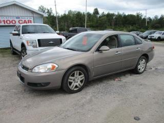 Used 2007 Chevrolet Impala LTZ for sale in North Bay, ON