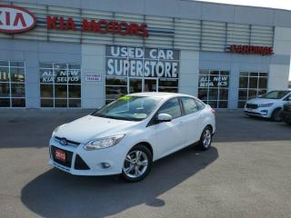 Used 2013 Ford Focus SE, 5 Speed Manual. Bluetooth, FOG Lamps. for sale in Niagara Falls, ON