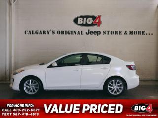 Used 2012 Mazda MAZDA3 GT FWD for sale in Calgary, AB