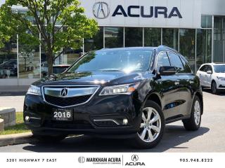 Used 2016 Acura MDX Elite for sale in Markham, ON