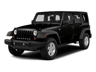 Used 2015 Jeep Wrangler UNLIMITED 4WD 4DR SAHARA for sale in Mississauga, ON
