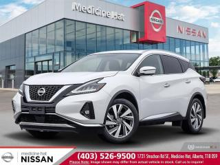 New 2020 Nissan Murano SL for sale in Medicine Hat, AB