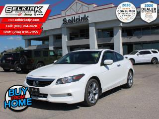 Used 2012 Honda Accord Coupe EX-L W/Navi - $142 B/W for sale in Selkirk, MB