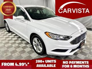 Used 2018 Ford Fusion SE - LOCAL VEHICLE/FACTORY WARRANTY - for sale in Winnipeg, MB