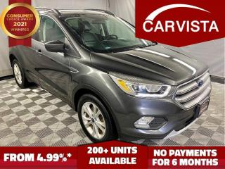 Used 2017 Ford Escape SE 4WD - NO ACCIDENTS/TOUCH SCREEN - for sale in Winnipeg, MB