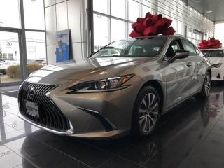 New 2020 Lexus ES 350 8A Premium for sale in North Vancouver, BC