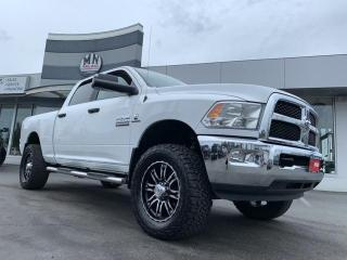 Used 2017 RAM 2500 SLT 4WD DIESEL LIFTED WHEEL/TIRE UPGRADE 58KM for sale in Langley, BC