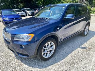 Used 2012 BMW X3 AWD 4dr 28i, service history for sale in Halton Hills, ON