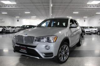 Used 2016 BMW X3 xDRIVE 28i I NAVIGATION I PANOROOF I REARCAM I PARKING SENS for sale in Mississauga, ON