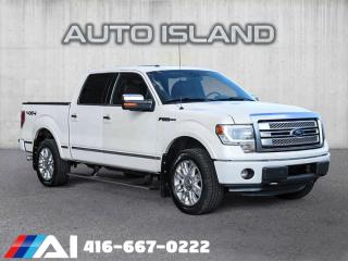 Used 2013 Ford F-150 PLATINUM CREW CAB 4X4**NAVIGATION**LEATHER for sale in North York, ON
