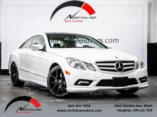 Used 2010 Mercedes-Benz E-Class Coupe|Navigation|Pano Roof|Harman Kardon|Dynamic Seats for sale in Vaughan, ON