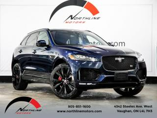Used 2017 Jaguar F-PACE S|Navigation|Camera|Lane Keep|Pano Roof|Cooled Seats for sale in Vaughan, ON