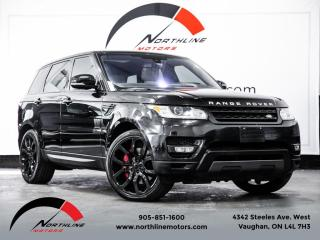 Used 2016 Land Rover Range Rover Sport Supercharged|Dynamic|Navigation|Heads Up Disp|Lane Departure for sale in Vaughan, ON