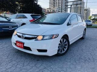 Used 2011 Honda Civic 4dr Auto EX-L for sale in Markham, ON