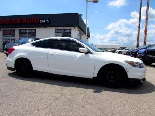 Used 2011 Honda Accord EX-L Coupe LEATHER SUNROOF BLUETOOTH CERTIFIED for sale in Milton, ON