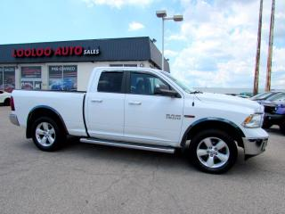 Used 2015 RAM 1500 SLT Quad Cab 4WD ECO Diesel Navigation Camera Certified for sale in Milton, ON