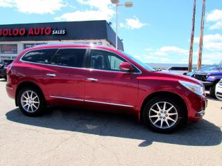 Used 2014 Buick Enclave Leather 7 PASSENGER Navigation Camera Certified for sale in Milton, ON