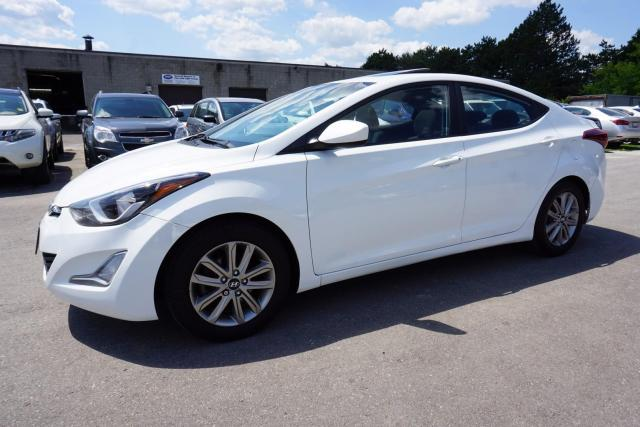 2014 Hyundai Elantra GLS CAMERA SUNROOF CERTIFIED 2YR WARRANTY *1 OWNER* HEATED ALLOYS AUX
