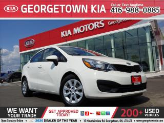 Used 2015 Kia Rio LX+ ECO | A/C | BLUETOOTH | HEATED SEATS | 65K KMS for sale in Georgetown, ON