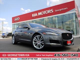 Used 2017 Jaguar XF 20d Premium | AWD| lLEATHER | ROOF| NAVI | DIESEL for sale in Georgetown, ON