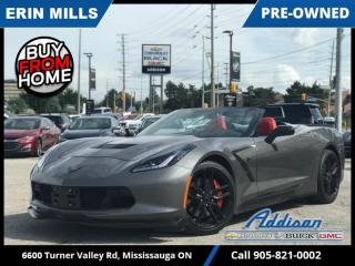 Used 2016 Chevrolet Corvette Z51  7 SPEED|NAVI|CARBON FLASH| for sale in Mississauga, ON