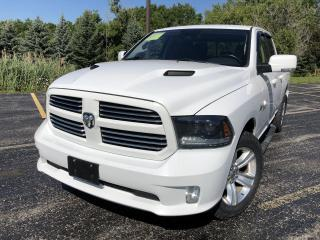 Used 2015 RAM 1500 Sport QUAD CAB 4X4 for sale in Cayuga, ON