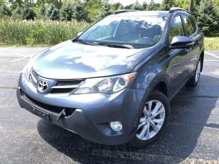 Used 2013 Toyota RAV4 LIMITED AWD for sale in Cayuga, ON