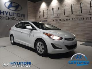 Used 2016 Hyundai Elantra LE+AUTOMATIQUE+AIR CLIMATISÉ+GRP ÉLECTRI for sale in Sherbrooke, QC