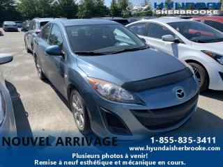 Used 2010 Mazda MAZDA3 GX +TRES BAS KILO + AIR CLIM + GRP ÉLECT for sale in Sherbrooke, QC