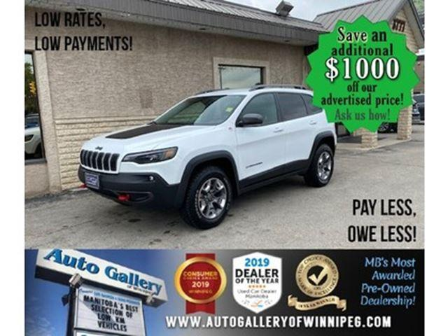 used 2019 jeep cherokee trailhawk 4x4 nav htd seats for sale in winnipeg, manitoba carpages.ca