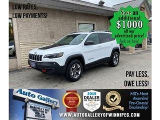 Used 2019 Jeep Cherokee Trailhawk* 4x4/Nav/htd seats/V6 for sale in Winnipeg, MB