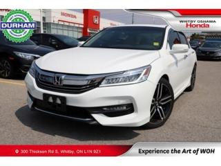 Used 2016 Honda Accord Touring w/Honda Sensing for sale in Whitby, ON