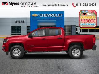 New 2020 Chevrolet Colorado 4WD Work Truck for sale in Kemptville, ON
