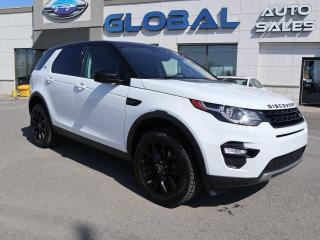 Used 2017 Land Rover Discovery Sport HSE - 5 PSGR for sale in Ottawa, ON