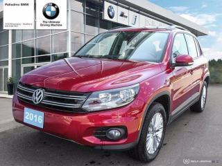 Used 2016 Volkswagen Tiguan Comfortline - LOW KM's, RELIABLE, GREAT OF FUEL for sale in Sudbury, ON