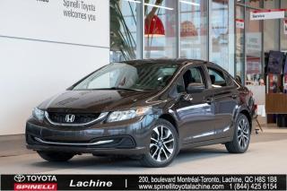 Used 2014 Honda Civic EX 1CAMERA ANGLE MORT! CAMERA DE RECUL for sale in Lachine, QC
