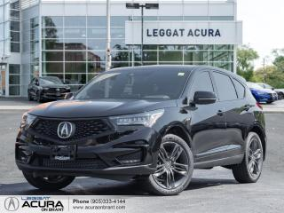 New 2021 Acura RDX A-Spec PANO ROOF +NAVI | COOLED SEATS | LOADED SAFETY FEATURES| DEMO for sale in Burlington, ON