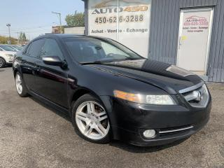 Used 2007 Acura TL ***AUTOMATIQUE,CUIR,TOIT,MAGS,BIEN CHAUS for sale in Longueuil, QC