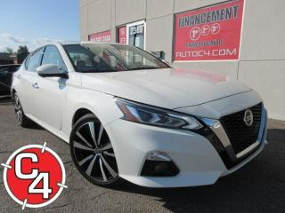 Used 2019 Nissan Altima 2.5 SL AWD CUIR NAVY TOIT PANO GARANTIE CERTIFIÉ for sale in St-Jérôme, QC