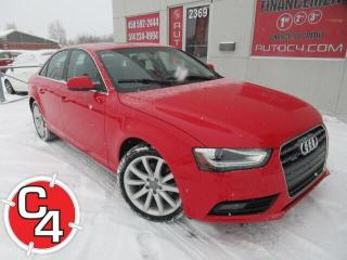 Used 2014 Audi A4 AWD CUIR TOIT MAGS BLUETOOTH for sale in St-Jérôme, QC