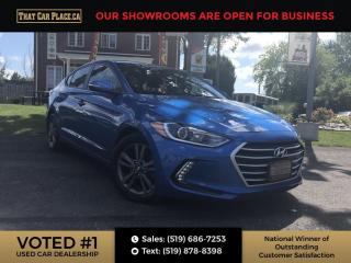 Used 2017 Hyundai Elantra GL Bluetooth System, Back Up Camera, Not a Rental, Heated Seats, Heated steering wheel, Lane assist. for sale in London, ON