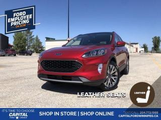 New 2020 Ford Escape Titanium for sale in Winnipeg, MB