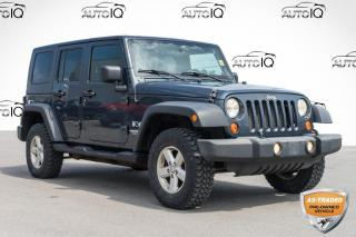 Used 2007 Jeep Wrangler Unlimited X YOU CERTIFY YOU SAVE for sale in Innisfil, ON