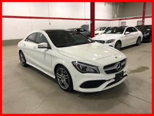 Used 2018 Mercedes-Benz CLA-Class CLA250 4MATIC PREMIUM PLUS SPORT NAVI PANO PARKTRONIC for sale in Vaughan, ON