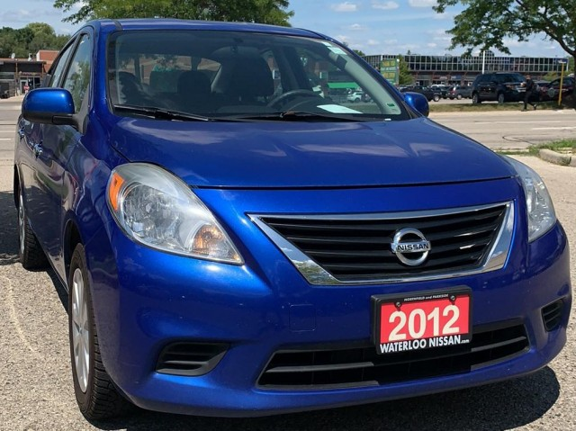 2012 Nissan Versa 4DR SDN I4 CVT 1.6 SV