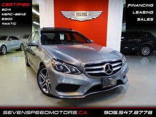 Used 2014 Mercedes-Benz E-Class E300 4MATIC | CERTIFIED | AMG | FINANCE @ 4.65% for sale in Oakville, ON