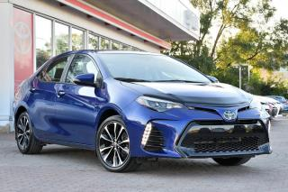 Used 2017 Toyota Corolla XSE MAGS,TOIT,CUIR+GPS for sale in Pointe-Claire, QC