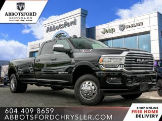 New 2020 RAM 3500 Laramie Longhorn  - Sunroof for sale in Abbotsford, BC