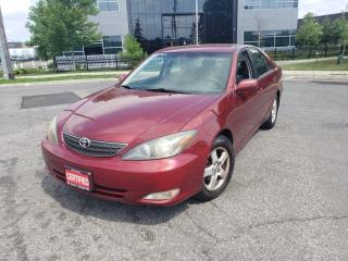 Used 2003 Toyota Camry SE, Auto, 4 Door, Low km, 3/Y warranty availab for sale in Toronto, ON