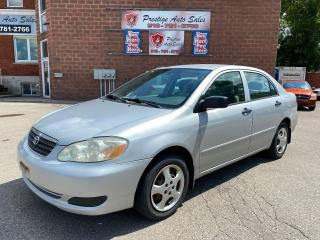 Used 2006 Toyota Corolla CE/1.8L/5 SPPED/A/C/NO ACCIDENTS for sale in Cambridge, ON